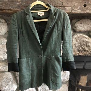 Aritzia Green Wilfred blazer
